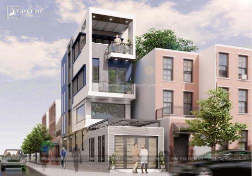 Nhà phố 2 mặt tiền - Anh Hùng