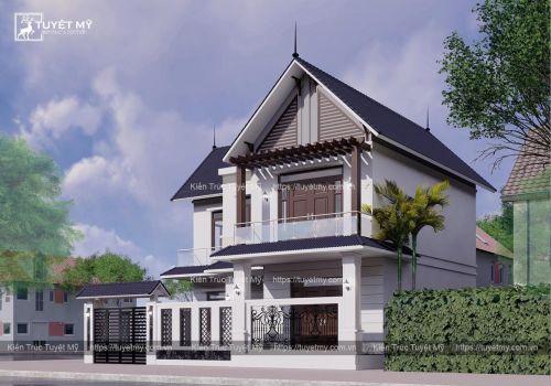 Biệt thự mái Thái - Anh Nam