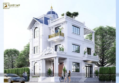 Biệt thự Tân Cổ Điển - Anh Huấn