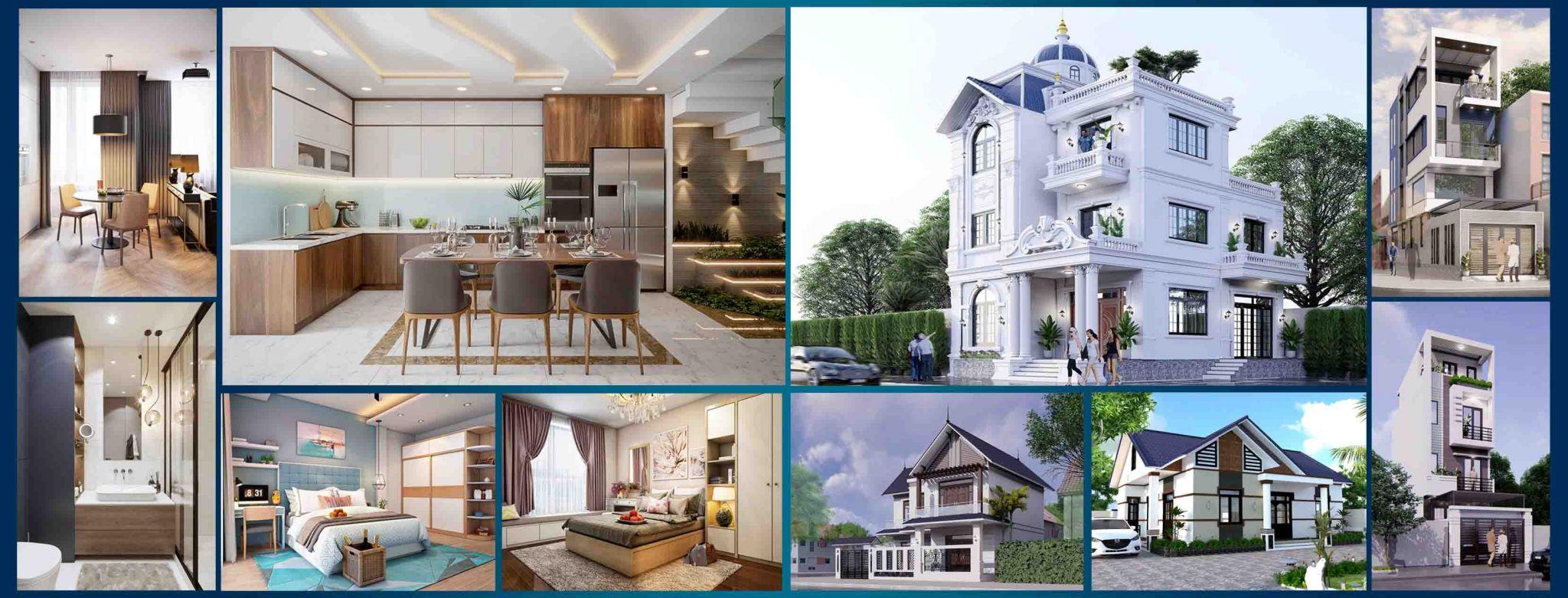 Kiến trúc Tuyệt Mỹ - nhận tư vấn thiết kế, thi công nội thất, ngoại thất trọn gói tại Hà Nội.